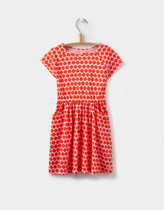 Joules Jude Neon Pink Rose Dress