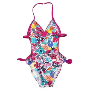 "Boboli Girl Swimsuit Trikini ""Floral"" For Girl"