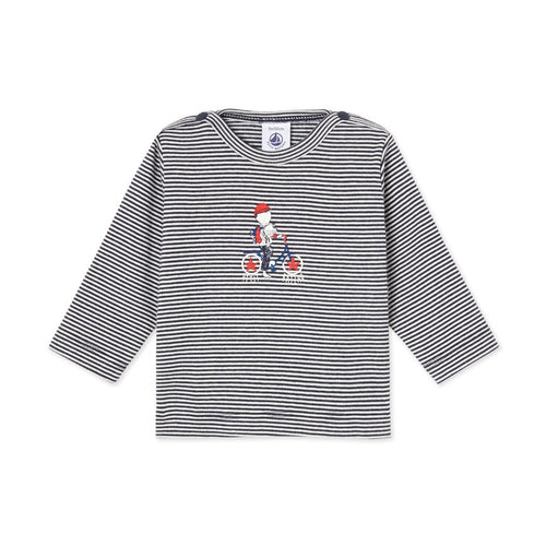 BABY BOY'S MILLERAIES STRIPED T-SHIRT