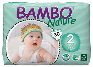 Bambo Nature diapers size 2