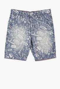 CHAMBRAY BERMUDA SHORTS FOR BOY