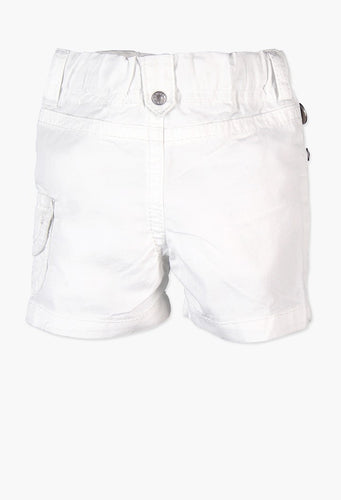 POPLIN BERMUDA SHORTS FOR BABY BOY