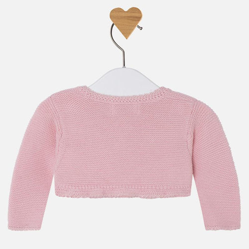 Mayoral Baby Girl Cardigan - Old Pink