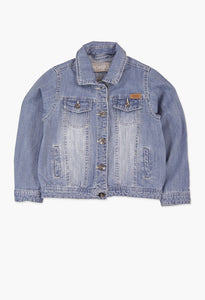 DENIM JACKET STRETCH FOR GIRL