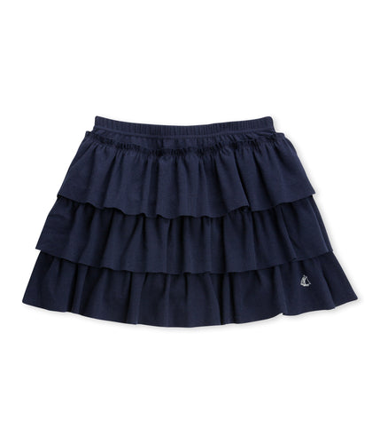 GIRLS' RUFFLED SKIRT