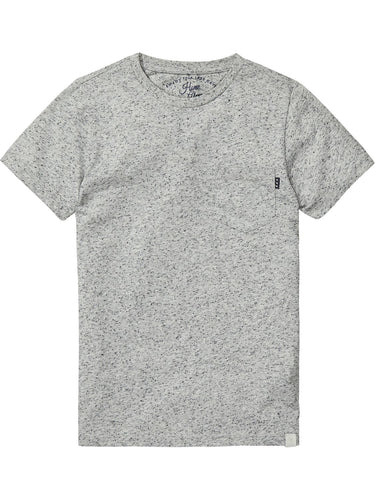 SCOTCH & SODA HOME ALONE GREY TEE