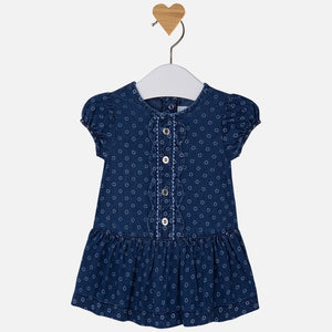 Mayoral Baby Girl Denim Dress
