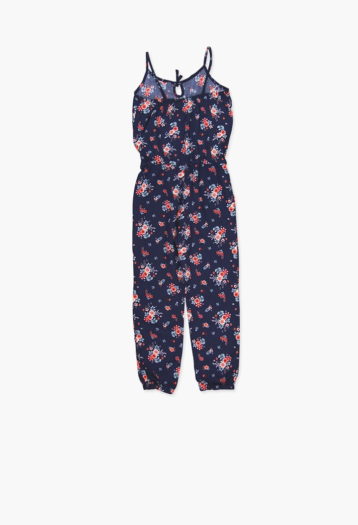 VISCOSE JUMPSUIT FOR GIRL