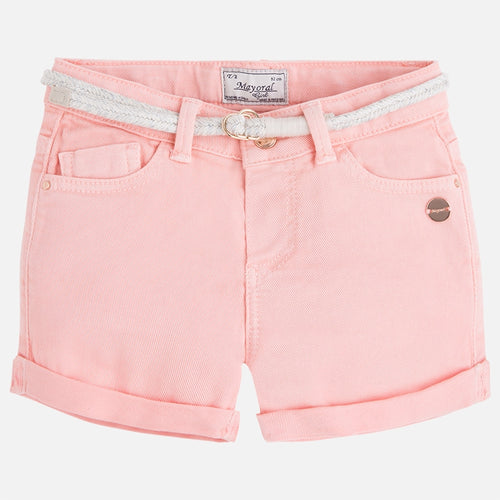 Mayoral Basic Girls Twill Shorts