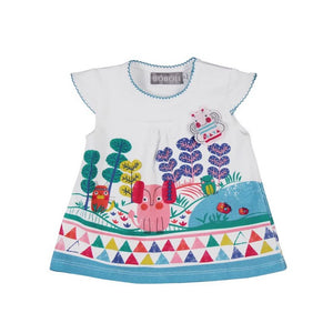 Boboli Baby Girl Multicolored Dress