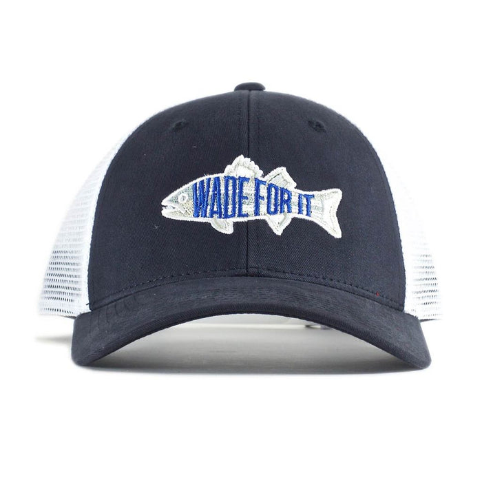 WADE FOR IT MESH STRIPER SNAPBACK