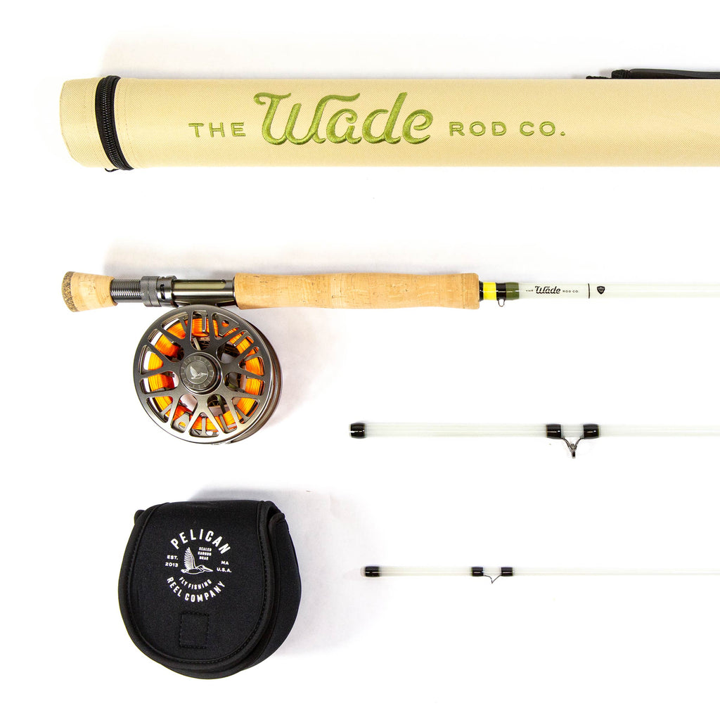 Dragon Glass Fiberglass Rod // Flight 2.0 Reel Combo