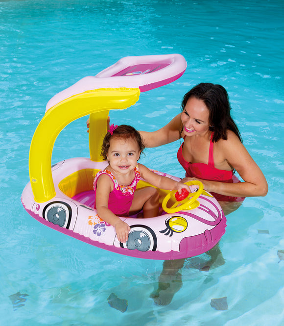 UV Careful Kiddie Car Float - pink