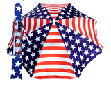 Beach Umbrella Sling Pack w/ tilt - American Flag