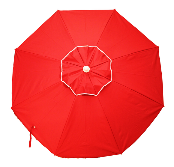 Beach Umbrella Vented Sling Pack w/ tilt - red