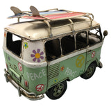 "Classic Peace Van 8"" w/ rack - green"