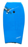 "Wet Pro Bodyboard 'Channel Slick' Bottom 42"" w/ leash - blue"