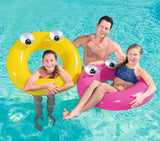 "Big Eyes Colorful Swim Tube 36"" - yellow"