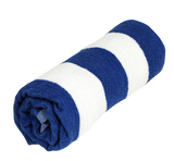 Cabana Stripe Towel Ultra - blue