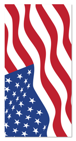 American Flag Stars & Stripes Towel