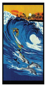 Big Wave Surfer Towel