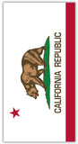 California Flag Towel