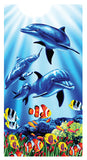 Dolphin Pool Towel