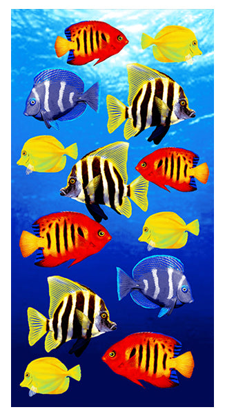 Fish School Towel
