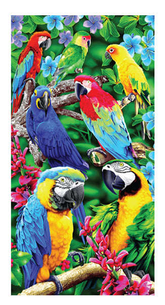 Paradise Birds Towel