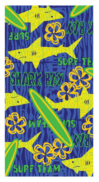Shark Surf Team Towel