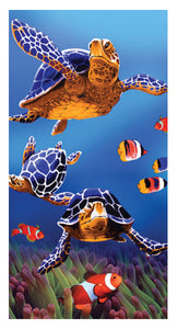 Sea Turtles Towel