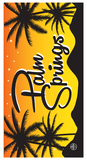 Palm Springs Souvenir Series Towel