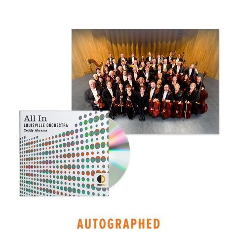 All In - Autographed CD + Signed Photograph