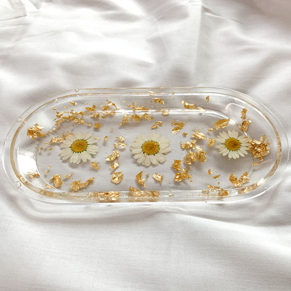 Daisy Collection Trinket Dish / Tray