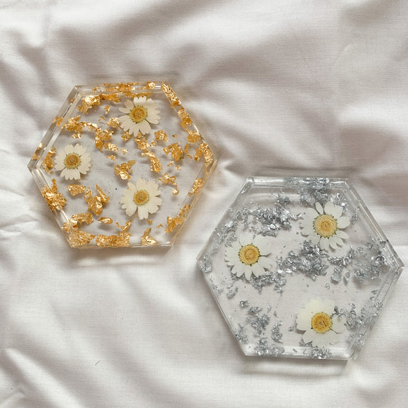 Daisy Collection Coaster 2 Set