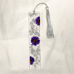 Purple Daisy Bookmark