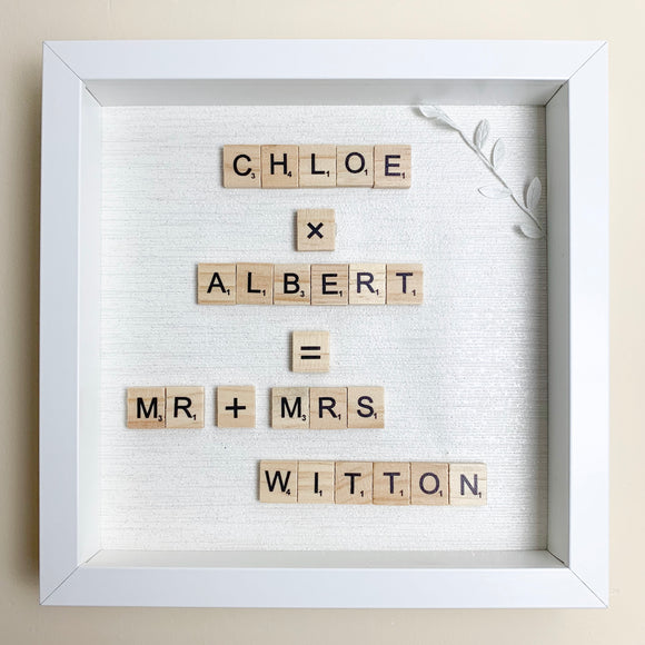 Mr & Mrs Box Frame