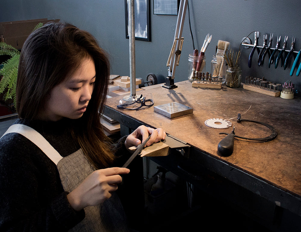 Five for Friday: Jewelry Designer + Metalsmith Olivia Shih
