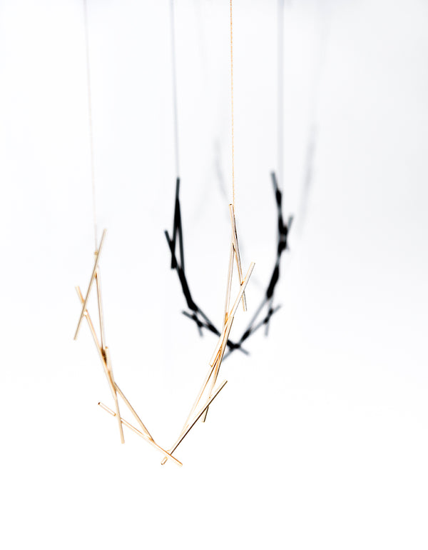 Gold Thorn Necklace