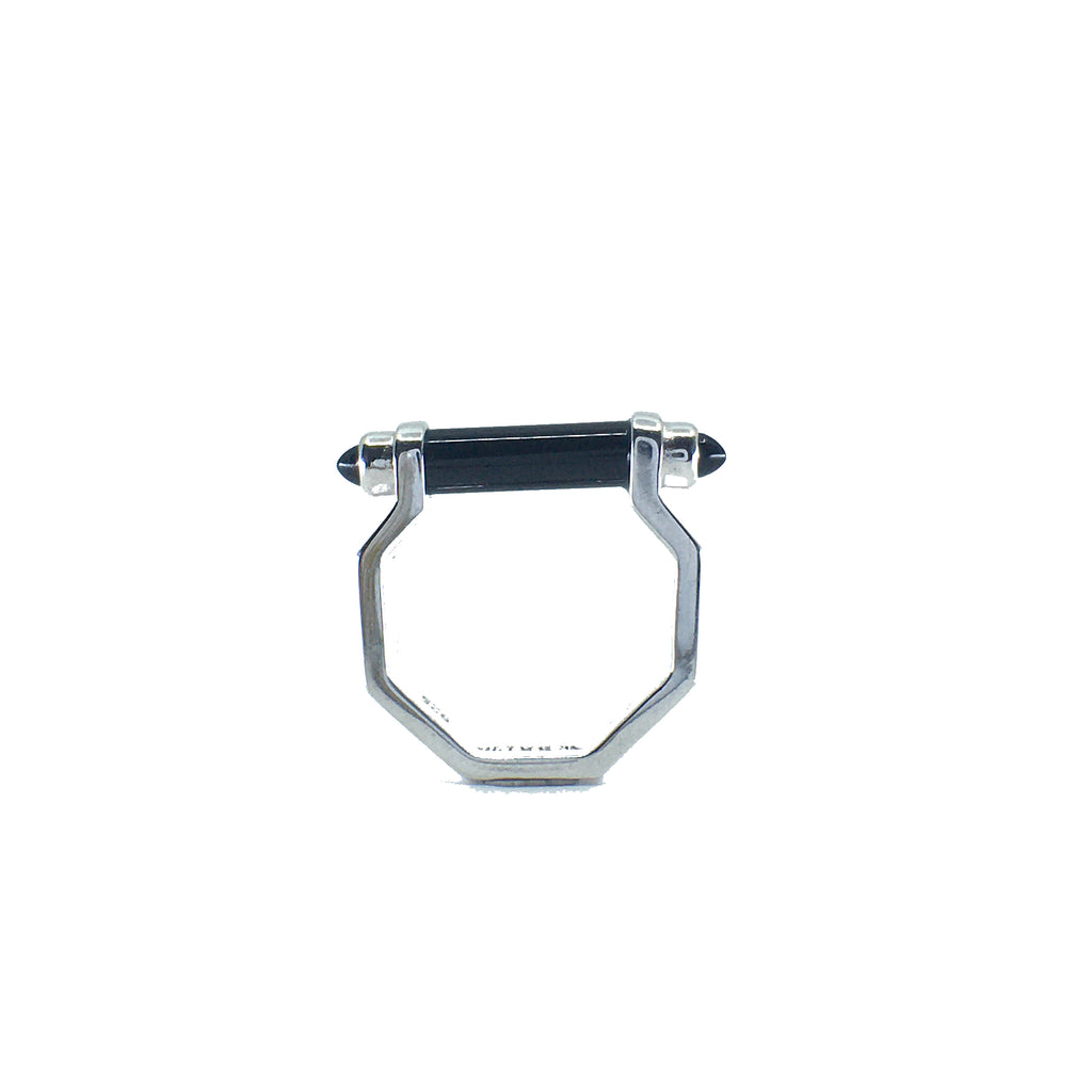 Hexagon Bar Ring