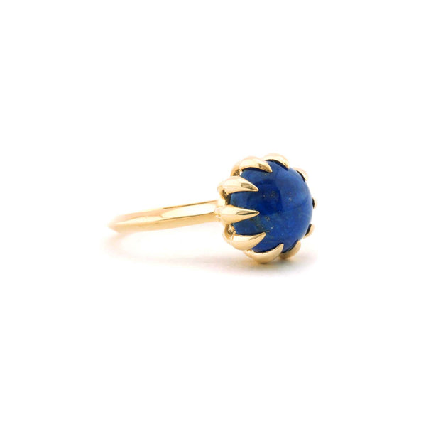 Large Lapis Bubble Ring