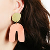 Fluid Curve Post Earrings