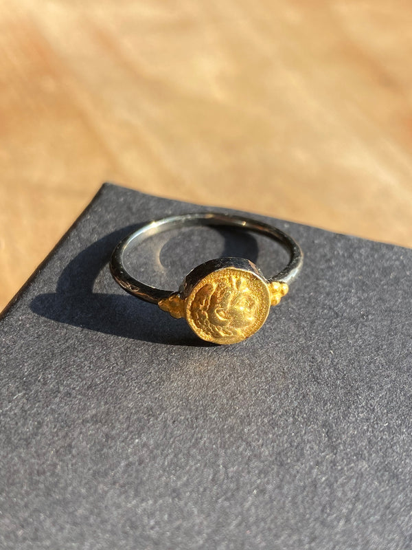 Small Coin Ring