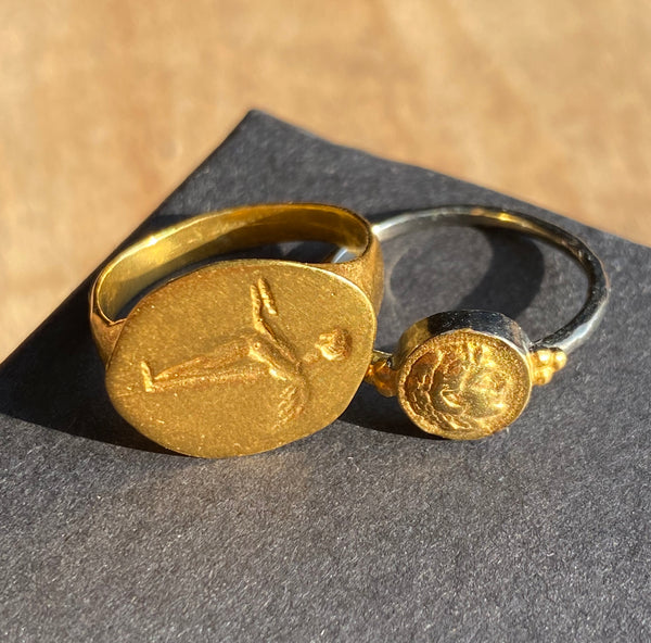 Wings Signet Ring