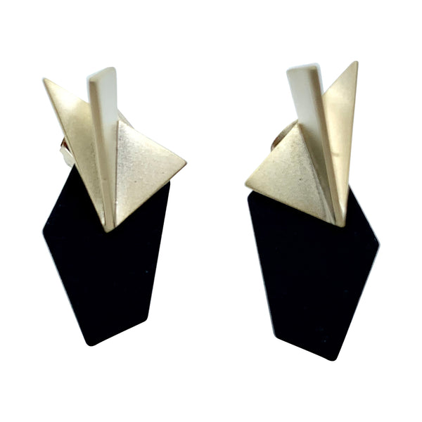 Paper Plane/ Origami Ear Jackets