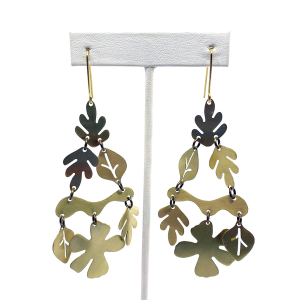 Tropical Cascade Earrings