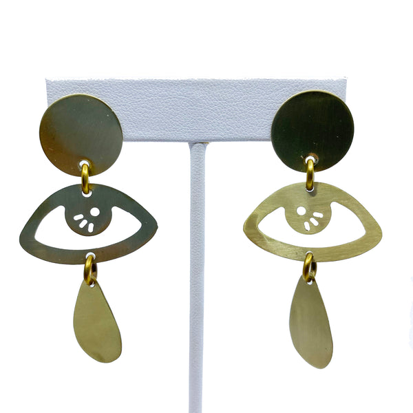Eye Contact Earrings