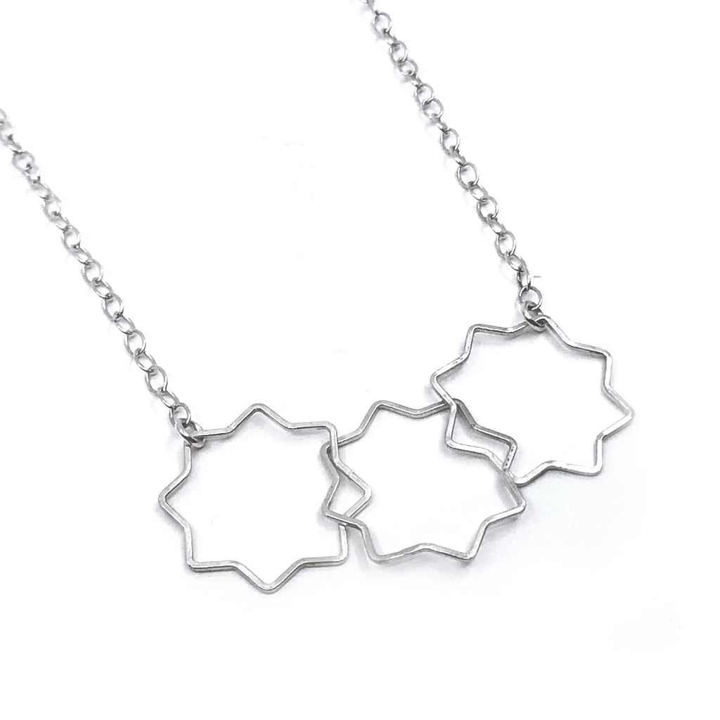 Floating Star Necklace