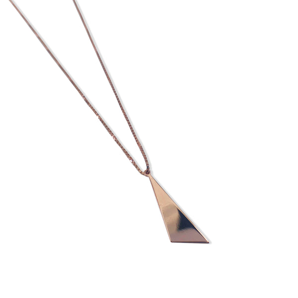 Polished Slice Necklace