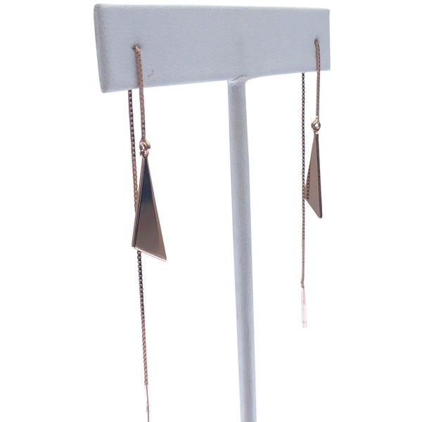 Slice Threader Earrings